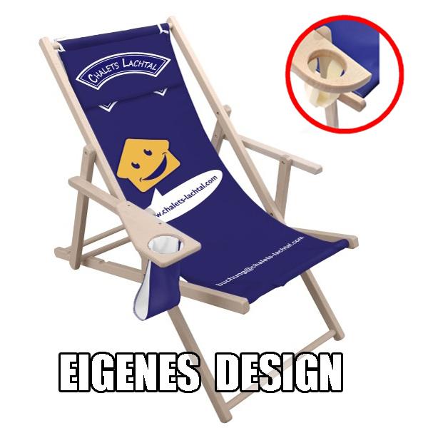 Liegestuhl mit eigenen Design