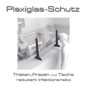 Plexiglas-Schutz