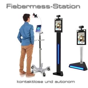 Fiebermess-Station